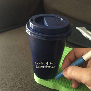 Coffee Cup RaspberryPi Case - foam frame cutting