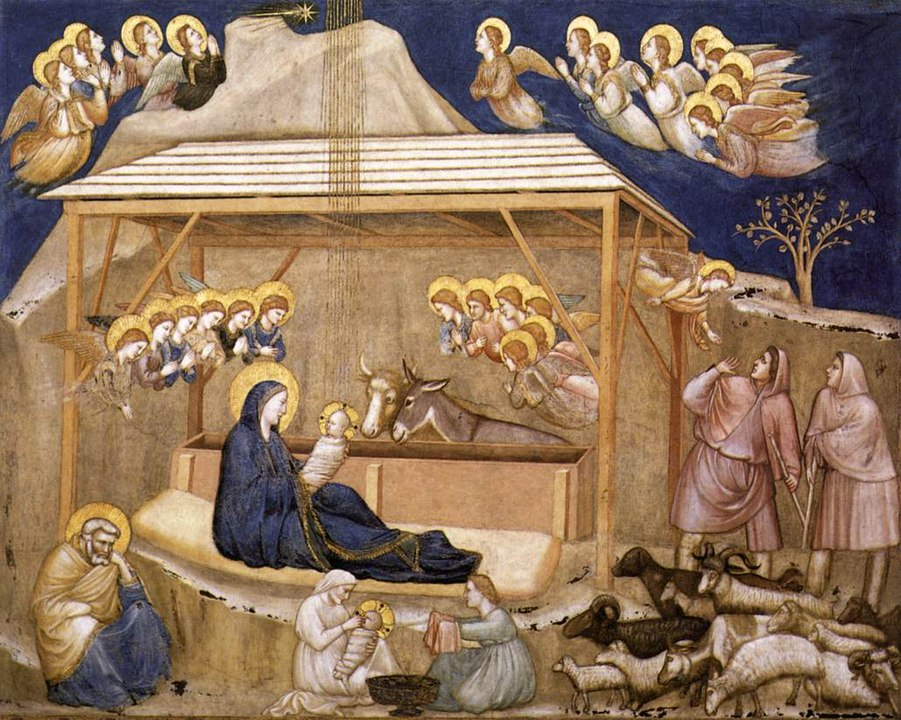 The Nativity in the Lower Church, Assisi
