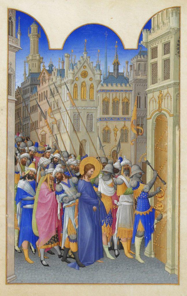 Christ Led to the Praetorium