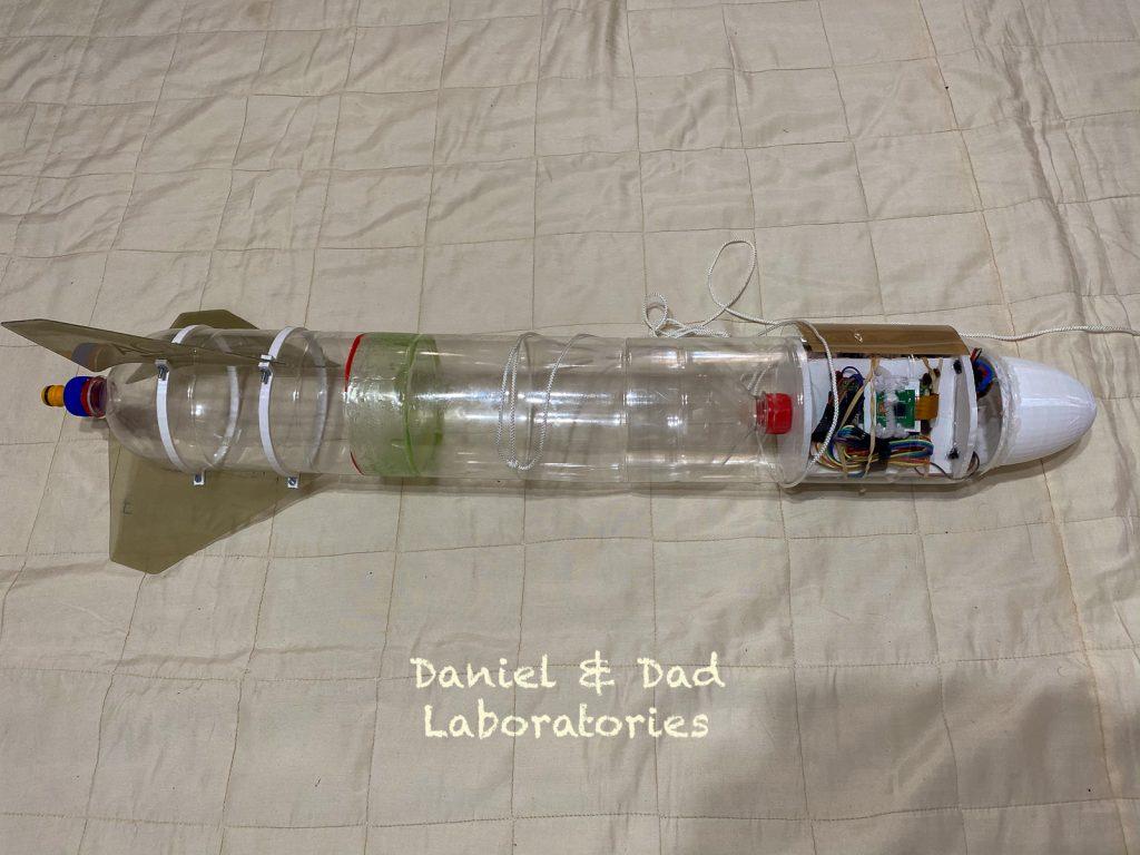 water rocket v1 - raspberry pi