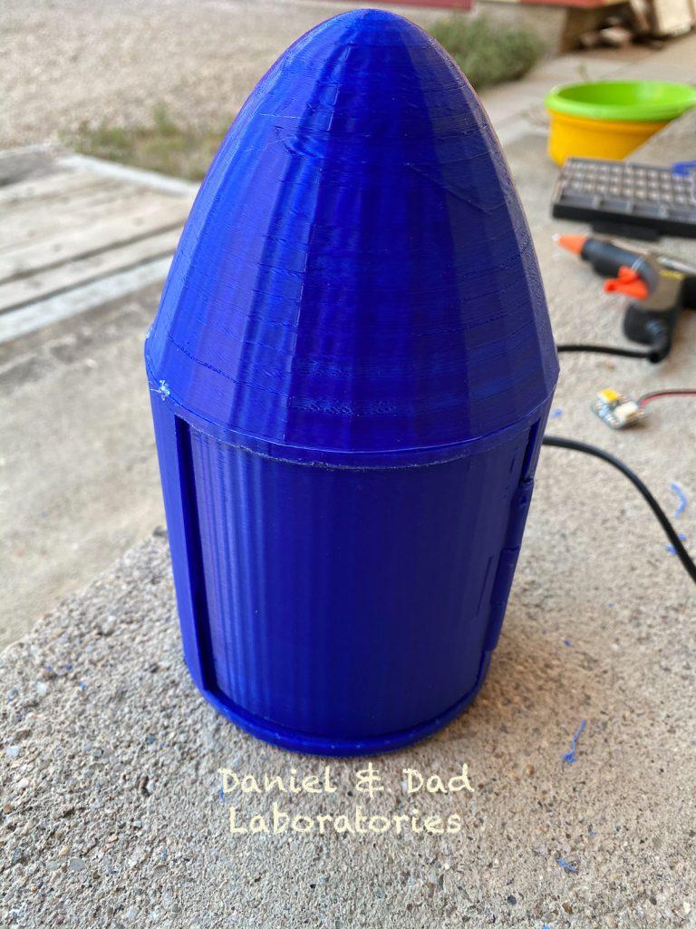 water rocket v2 - raspberry pi